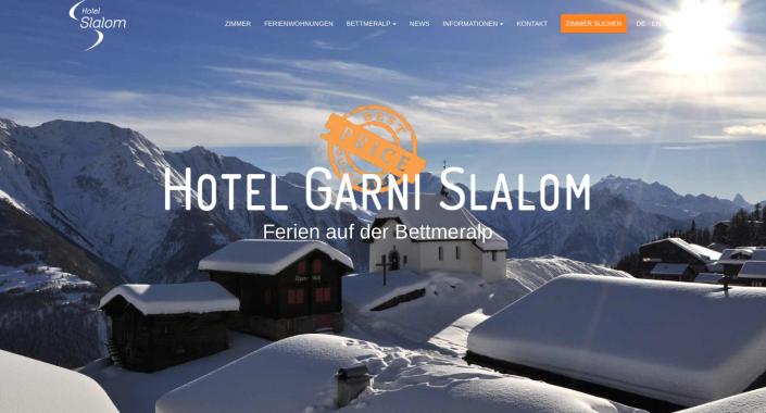 neue homepage hotel bettmeralp